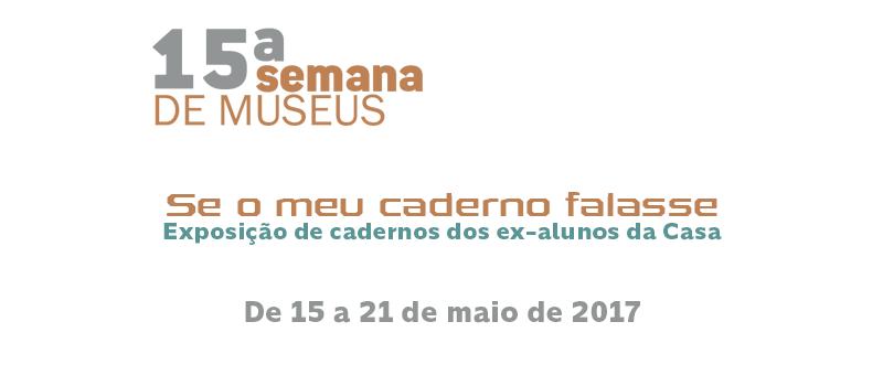 15 semana de museus